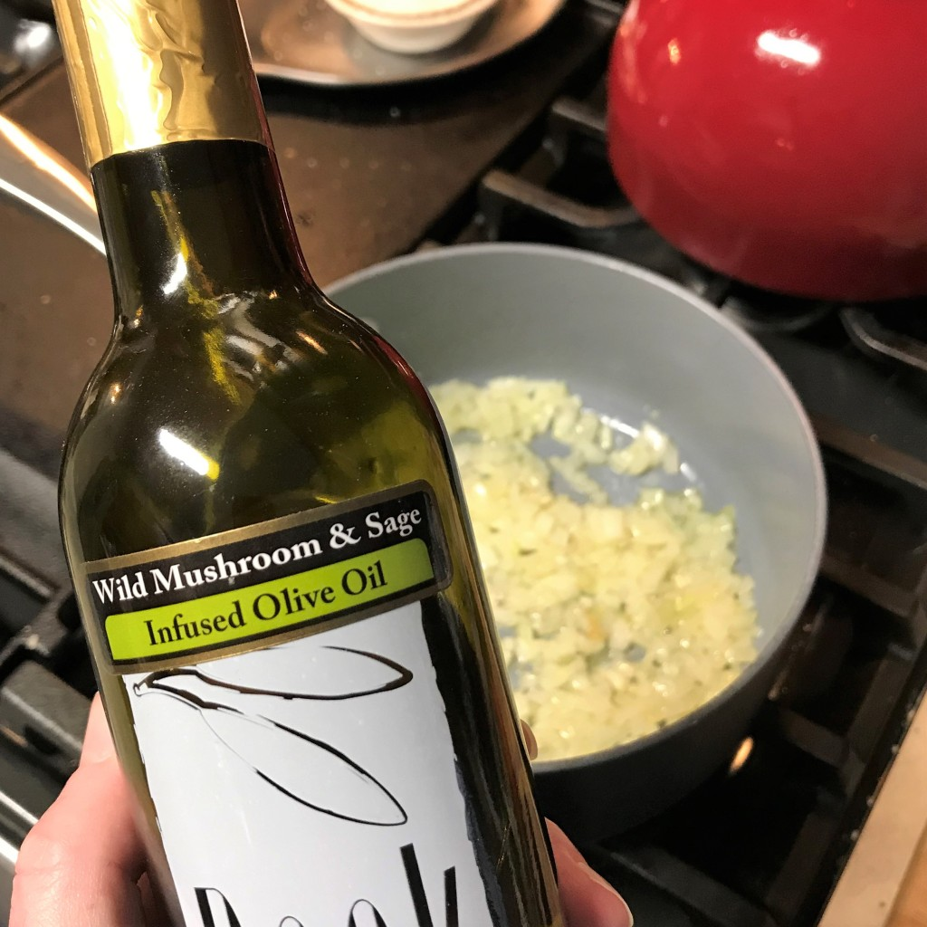 This oil is produced by a company called Veronica Foods, supplier to so many of the boutique olive oil and balsamic vinegar shops around the U.S.